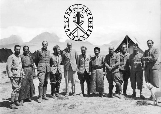 ナチス・ドイツの研究機関アーネンエルベの研究員たち