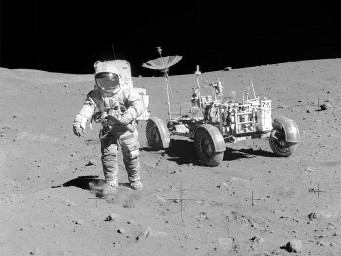 アポロ15号の月面車