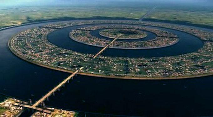 アトランティス文明の都市イメージ