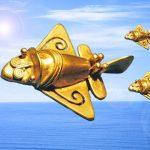 黄金ジェット(黄金シャトル)は、アトランティスの飛行船! 南米、エジプトの古代文明の起源を探る!