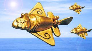 黄金ジェットは、アトランティス文明の飛行船! 南米、エジプトの古代文明もアトランティスが起源だった!