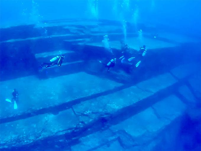 与那国島 海底遺跡:メインテラス1
