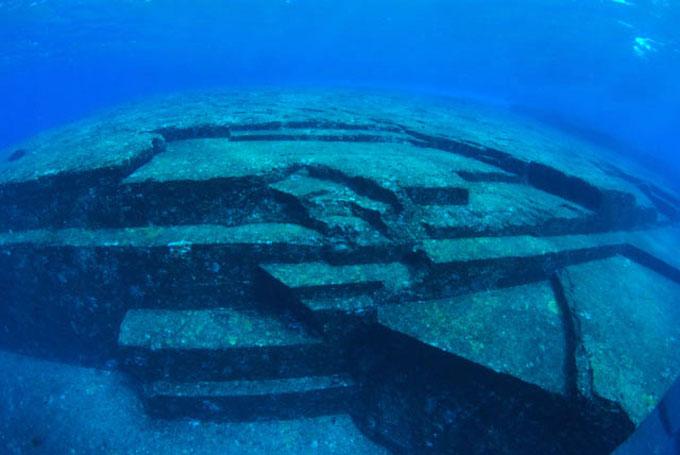 与那国島 海底遺跡:階段1