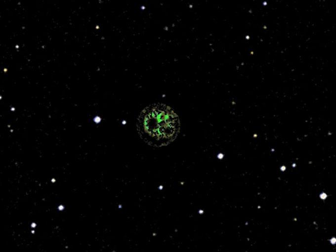 グーグルスカイで発見されたダイソン球