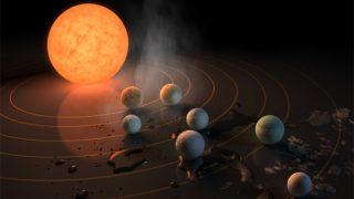 NASAの重大発表!太陽系外の3つの惑星に生命が棲息する可能性! 第二の地球に宇宙人がいるとしたら?