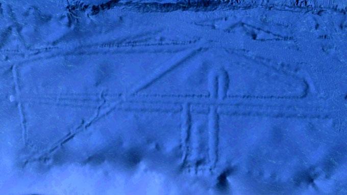 グーグルアースで発見されたメキシコ沖の海底遺跡