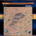 火星に人間の足跡? NASAの火星探査車スピリットが撮影! すでに人類は火星に旅立っている!