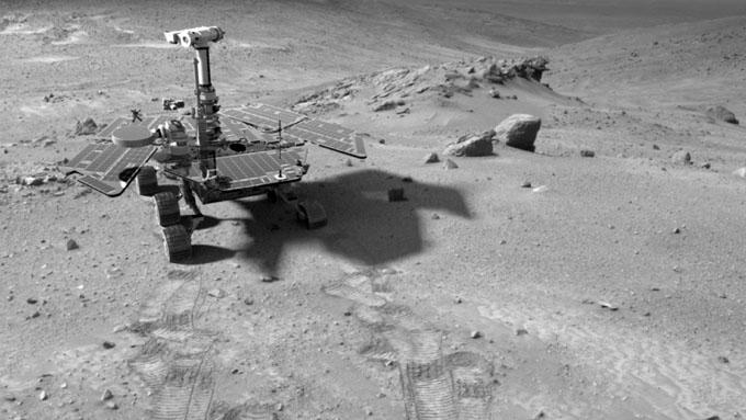 火星探査車スピリット