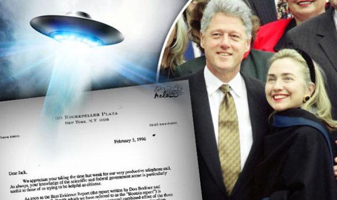UFO情報の核心に迫れなかったクリントン夫妻
