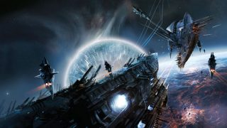 ビームで攻撃されたUFOが急リターン! スペースシャトルが撮影した宇宙戦争の衝撃映像か?