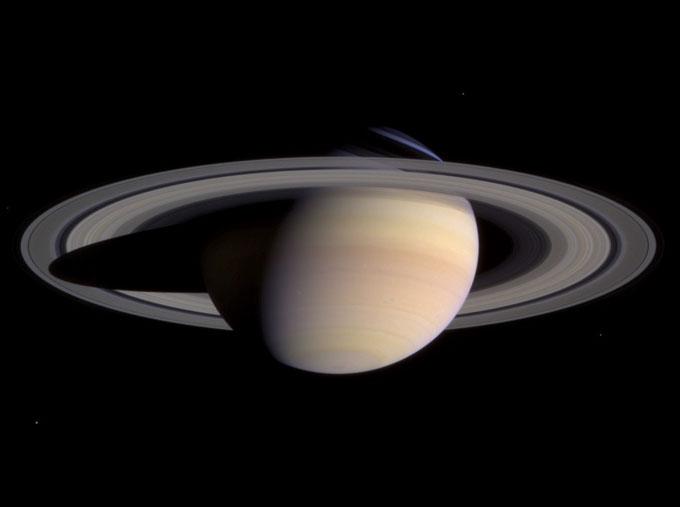 土星の画像