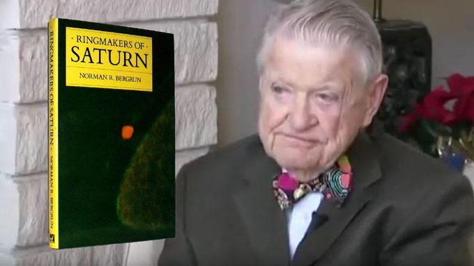 土星リング人工建造物説を唱えるノーマン・バーグラン博士