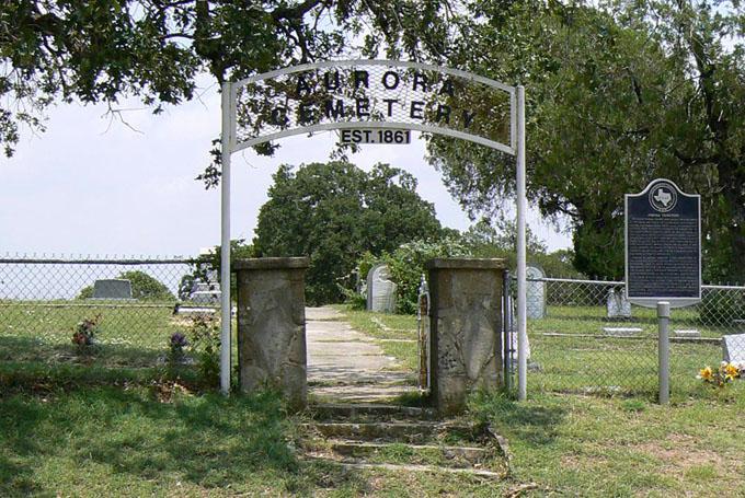 エイリアンの墓があると言われる共同墓地