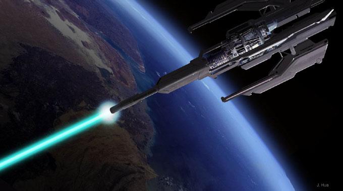 宇宙兵器 神の杖
