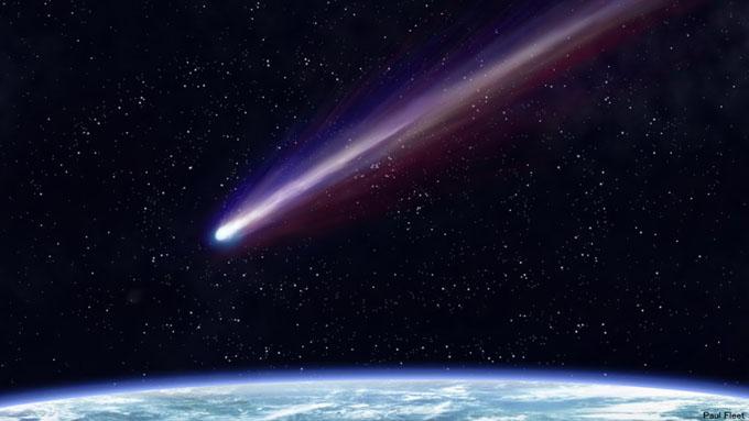 隕石のイメージ