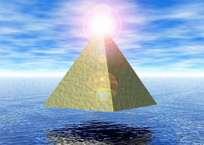 ピラミッドパワーのイメージ