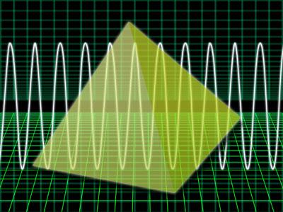 ピラミッドの周波数イメージ