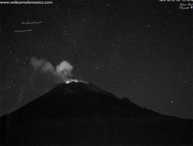 ポポカテペトル山のスカイフィッシュ1