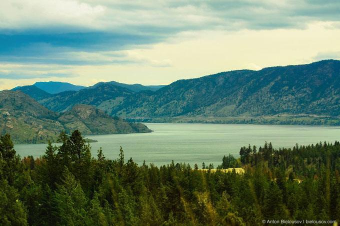 カナダのオカナガン湖