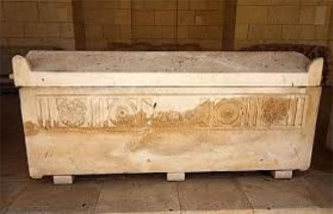 ミイラの入っていた棺