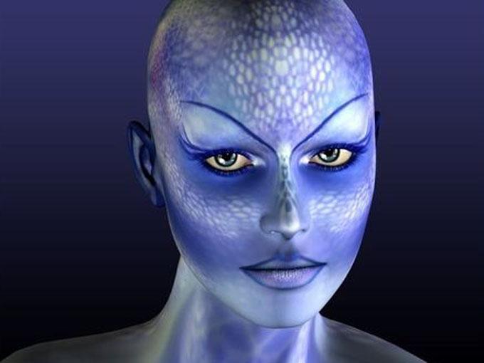 宇宙人のイメージ