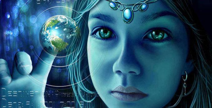 地球に生まれる宇宙人のイメージ