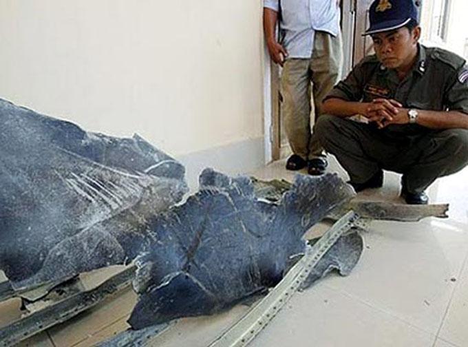 ベトナムに墜落したUFOの残骸1