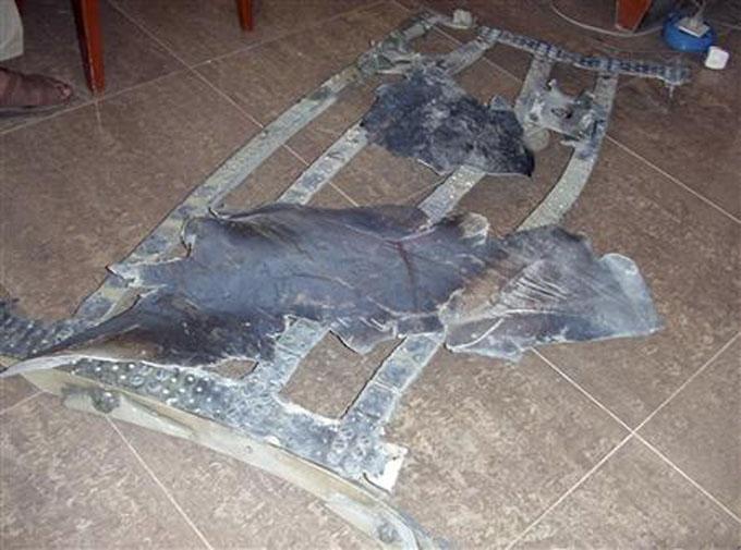 ベトナムに墜落したUFOの残骸2