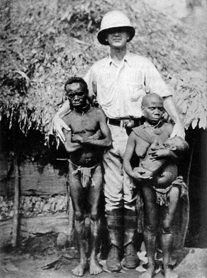 アフリカのピグミー部族