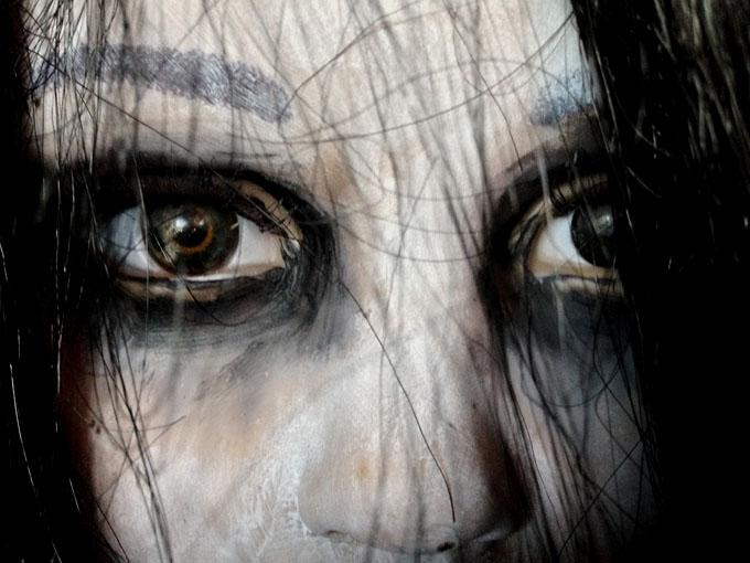 美少女の幽霊のイメージ