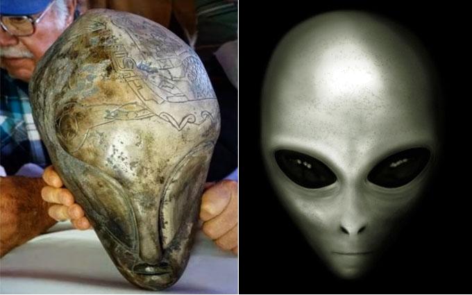 宇宙人グレイとオーパーツの比較