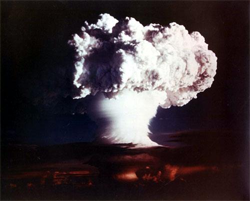アメリカの水爆実験