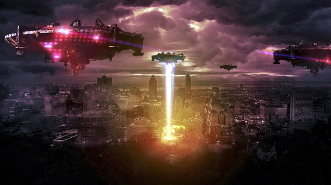 宇宙人の地球侵略