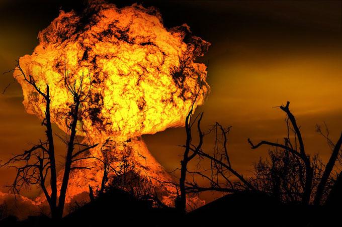 核ミサイル着弾イメージ