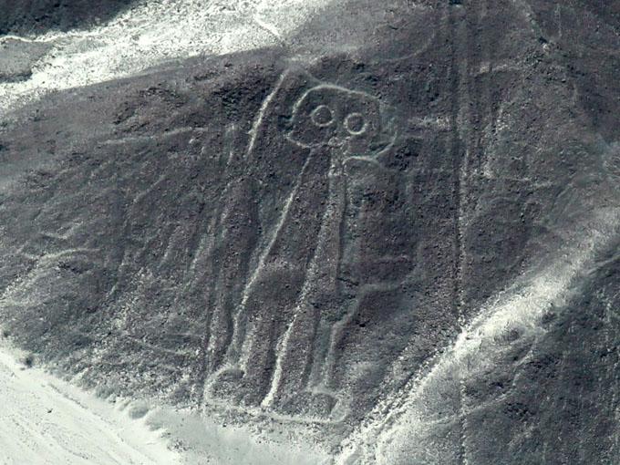 ナスカ地上絵の宇宙人