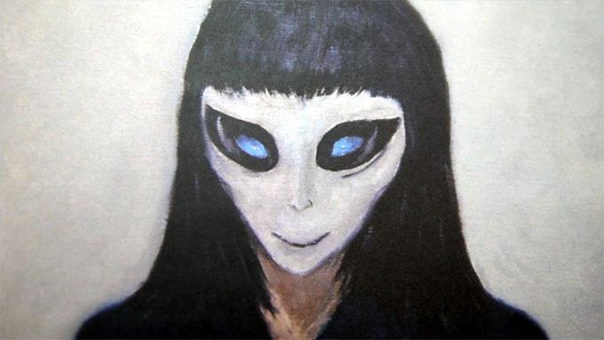 女性宇宙人クレッセント