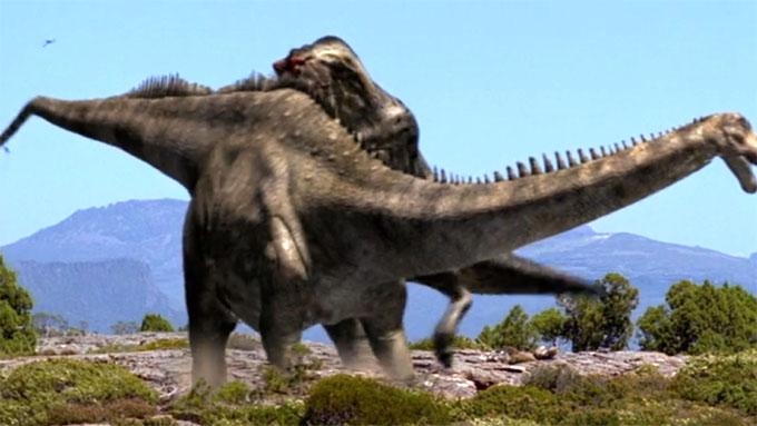 ウォーキングwithダイナソー:恐竜の格闘